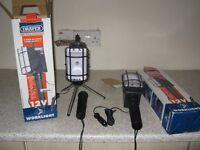 bran new x 2 draper work light 12 volts boxed