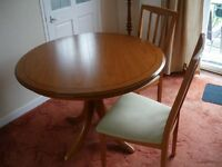 Dining Room Furniture Repost Expanding Table & 4 Chairs . Park Furnishers.