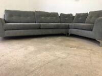 Grey dfs corner sofa, couch, suite, furniture 🚛🚚🚛🚚