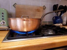 Falk Culinaire Copper Saucier Pan + Lid (RRP £285)