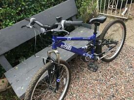 Full suspension bike