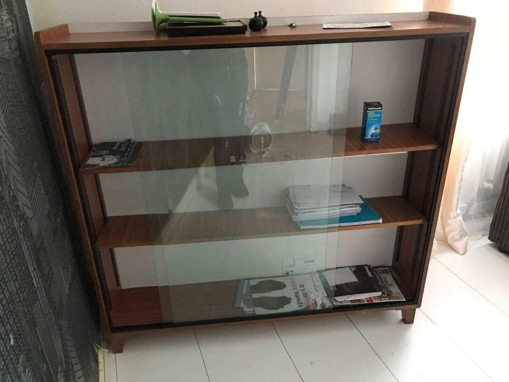 Glass shelving unit for sale