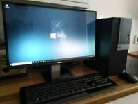 """Dell Optiplex 3040 PC with 23"""" HD Monitor"""