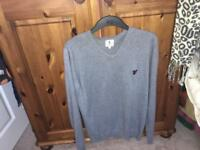 V-neck Lyle and Scott sweater.
