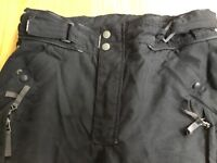 "Hein Gericke Touring Trousers size 52 (UK 38"") waterproof GORTEX"