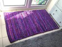 90x150cm purple rug