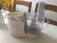 Jamie Oliver extra large ceramic mixing bowl, 2 cookery books & Kenwood food Processor