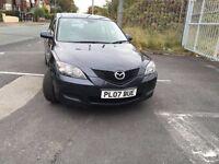 Mazda 3 *** 2007 *** LONG MOT ***LOW MILEAGE***