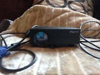 ELEPHAS Full Color 130 Portable LED Pico Projector with HDMI, Vga cable
