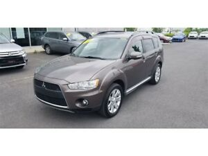 2011 Mitsubishi Outlander XLS V6 AWD 7 PASSAGERS CUIR+TOIT+MAGS