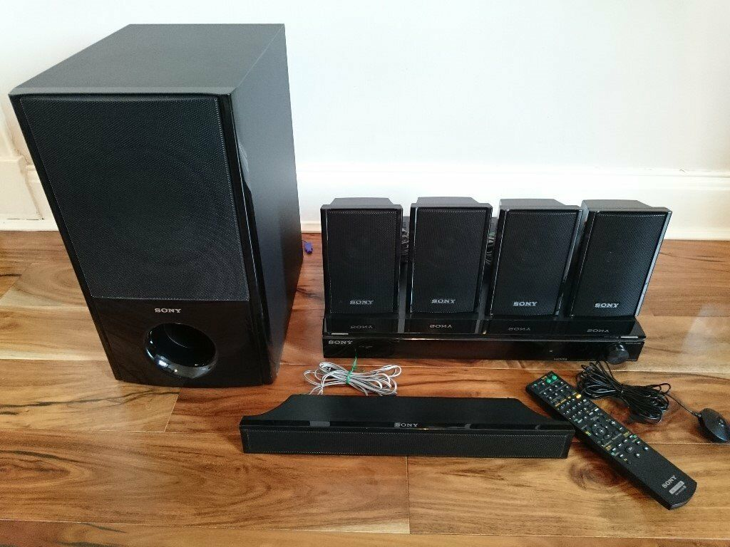 sony str ks360s 5 1 surround sound system with radio and. Black Bedroom Furniture Sets. Home Design Ideas