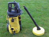 Karcher K2 Pressure Washer with T50 Patio Cleaner