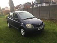 Toyota yaris only 32k fresh MOT