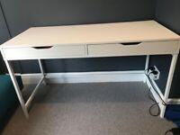 For Sale White IKEA Desk