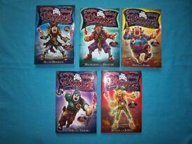 5 x Dragon Blood Pirates Books IP1