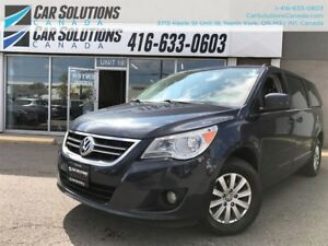 2009 Volkswagen Routan Highline-Leather-sn roof-DVD