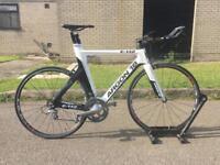 Argon 18 E-112 Triathlon TT Road Bike Fully Carbon Fibre Excellent Condition