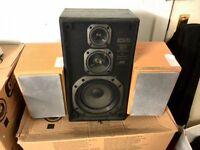 Speakers - 1 x JVC SP-E300 Standmount / Bookshelf + 2 x Sanyo Speaker