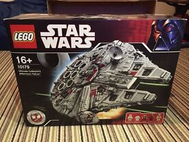 I want to buy Lego UCS Millennium Falcon 10179's, I will pay good prices for other UCS sets too.