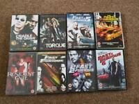 dvds various to choose from. 50p each