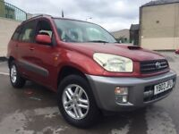 2003 TOYOTA RAV4 2.0 D-4D DIESEL 12 MONTHS MOT RECENTLY SERVICED