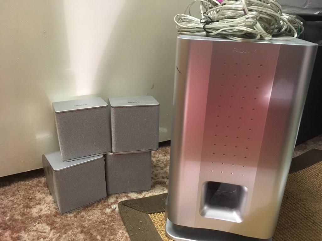 Sony home cinema speakers and cables   in Gillingham, Kent   Gumtree