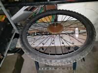 Free bike wheel