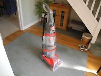 VAX - 124 dual V carpet cleaner/washer