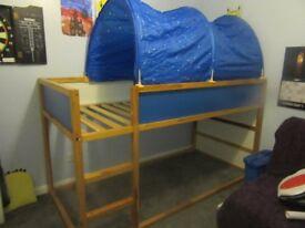Ikea boys reversable bed