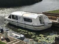 Viking rhapsody 29 broads cruiser, boat