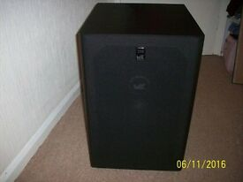 M&K Miller and Kreisel MX350 THX MKII Subwoofer for KEF,B&W,Pioneer,Atmos,DTS MINT CONDITION