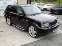 LATE 2005 RANGE ROVER SPT HSE TDV6 2.7 AUTO ( WARRANTY & FINANCE AVAILABLE)