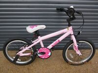CHILDS KINX BMX. STYLE BIKE IN EXCELLENT ALMOST NEW CONDITION.. (SUIT APPROX. AGE. 6+)