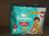 Pampers Baby-Dry Pants Size 4 Nappy Pants 50pk