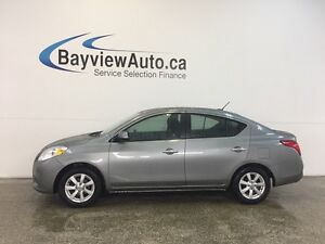 2012 Nissan VERSA SL - AUTO! A/C! ALLOYS! CRUISE! TOUCHSCREEN!
