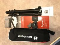 Manfrotto Befree Travel Tripod with Ball Head (like new!)
