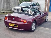 BMW Z4 2.5 Straight 6 2004 78000 miles