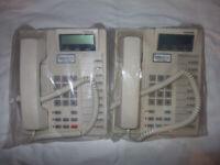 Toshiba DKT2010F-SD Business Telephones x 2