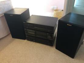 Sony, Technics Hi-Fi Separates.
