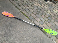 Shlegel topline kayak paddle 206cm. Right handed 90 degree feather