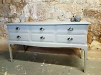 Stag Minstrel console table/sideboard
