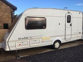 Swift Capri L 2 berth end wash room 2001 excellent throughout