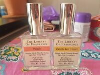 The Library Of Fragrance Peach & Vanilla Ice Cream ~ £20 ono (RRP ~ £30)