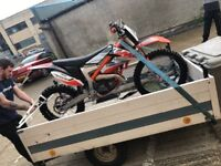 Ktm free ride 250 2 stroke £2700 legit bike comes with papers