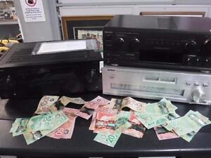 Need extra CASH? Cash Pawn wants your old or new home audio receiver for instant CASH!*