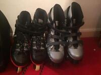 Adult roller boot & blades