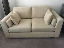 Medium sofa, seats up to 3, neutral colour, comfy and good condition!