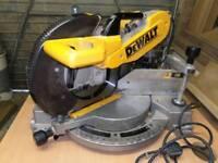 Dewalt 240v mitre chop saw