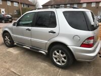 Mercedes 270ml CDI, full leather 7 seater, 11 months mot, 80,500 miles