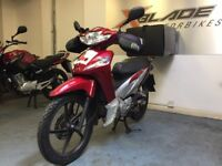 Honda Wave 110cc Semi Automatic Scooter, Delivery Box, Good Cond, Full Servic...